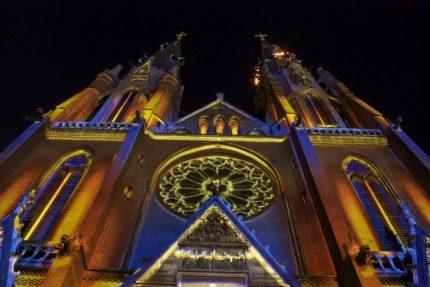 Fotografie Glow Eindhoven Catharinakerk